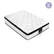 Load image into Gallery viewer, Giselle Bedding King Size 28cm Thick Spring Foam Mattress