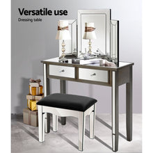 Load image into Gallery viewer, Artiss Mirrored Furniture Dressing Console Hallway Hall Table Drawers Sidebaord