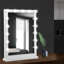 Load image into Gallery viewer, Embellir Hollywood Makeup Mirror With Light 15 LED Bulbs Vanity Lighted Stand