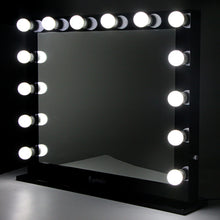 Load image into Gallery viewer, Embellir Make Up Mirror with LED Lights - Black