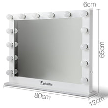 Load image into Gallery viewer, Embellir Make Up Mirror with LED Lights - White