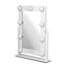 Load image into Gallery viewer, Embellir LED Standing Makeup Mirror - White