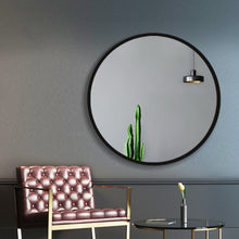 Load image into Gallery viewer, 80cm Frameless Round Wall Mirror