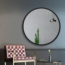 Load image into Gallery viewer, Embellir 90CM Wall Mirror Bathroom Makeup Mirror Round Frameless Polished