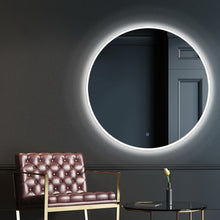Load image into Gallery viewer, Embellir LED Wall Mirror Bathroom Mirrors With Light 90CM Decor Round Decorative