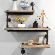 Load image into Gallery viewer, Artiss 3 Level 84cm DIY Adjustable Metal Bookshelf