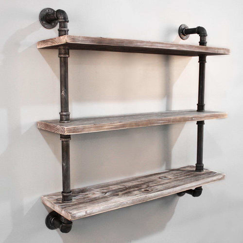 Artiss 3 Level 92cm DIY Wall Mounted Bookshelf