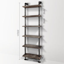 Load image into Gallery viewer, Artiss 6 Level DIY Wooden Bookshelf