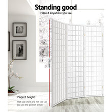 Load image into Gallery viewer, Artiss 8 Panel Room Divider Privacy Screen Dividers Stand Oriental Vintage White
