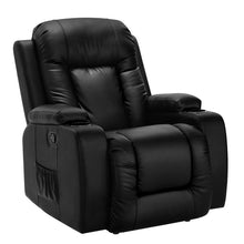 Load image into Gallery viewer, Artiss Electric Massage Chair Recliner Luxury Lounge Sofa Armchair Heat Leather