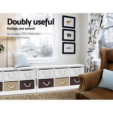 Load image into Gallery viewer, Artiss Storage Bench Shoe Organiser 6 Drawers Chest Cabinet Rack Box Shelf Stool