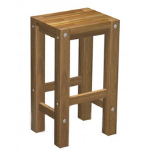 Load image into Gallery viewer, Sturdy Stool Natural oil Finish