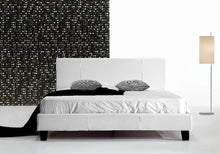 Load image into Gallery viewer, Queen PU Leather Bed Frame White