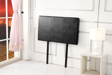 Load image into Gallery viewer, PU Leather Single Bed Headboard Bedhead - Black