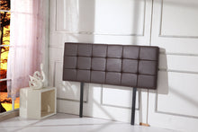 Load image into Gallery viewer, PU Leather Double Bed Deluxe Headboard Bedhead - Brown
