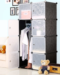 DIY 16XL Cube Storage Cupboard Wardrobe