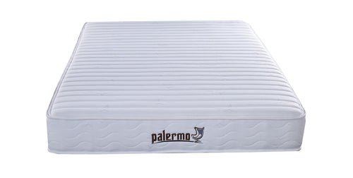 Palermo Contour 20cm Encased Coil Queen Mattress CertiPUR-US Certified Foam