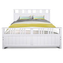 Load image into Gallery viewer, Artiss Wooden Bed Frame Timber Double Full Size EVA Kids Adults Mattress Bed Base