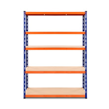 Load image into Gallery viewer, Giantz 1.2M Warehouse Racking Shelving Storage Shelf Garage Shelves Rack Steel Blue and Orange