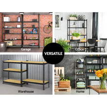Load image into Gallery viewer, 0.7M Warehouse Shelving Racking Storage Garage Steel Metal Shelves Rack