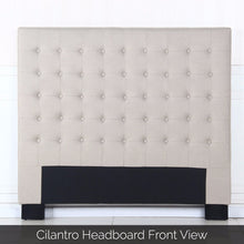 Load image into Gallery viewer, Cilantro Double Beige Headboard