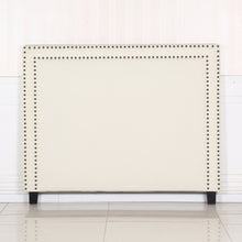 Load image into Gallery viewer, Enzo Queen White Headboard