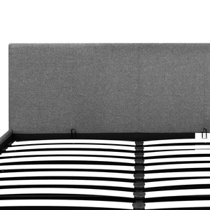 Artiss Double Size Fabric and Wood Bed Frame Headborad - Grey
