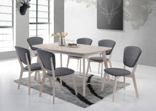 Load image into Gallery viewer, 6 Seater Dining Table Solid hardwood White Wash