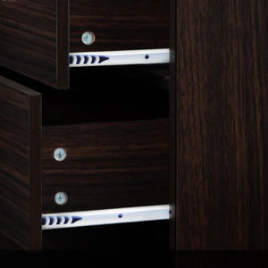 Artiss Tallboy 6 Drawers Storage Cabinet - Walnut