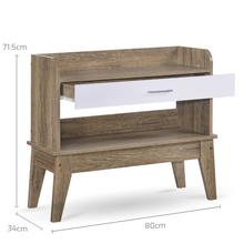 Load image into Gallery viewer, Console hallway Table Oak