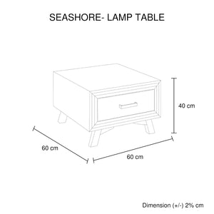 Seashore Lamp Table 1 Drawer