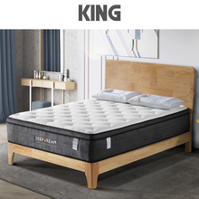 Load image into Gallery viewer, Eurotop Mattress 5 Zone Pocket Spring Latex Foam 34cm - King