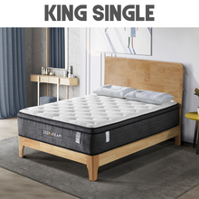 Load image into Gallery viewer, Eurotop Mattress 5 Zone Pocket Spring Latex Foam 34cm - King Single
