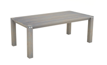 Load image into Gallery viewer, Sturdy 2 Metre Table Grey Brush Finish