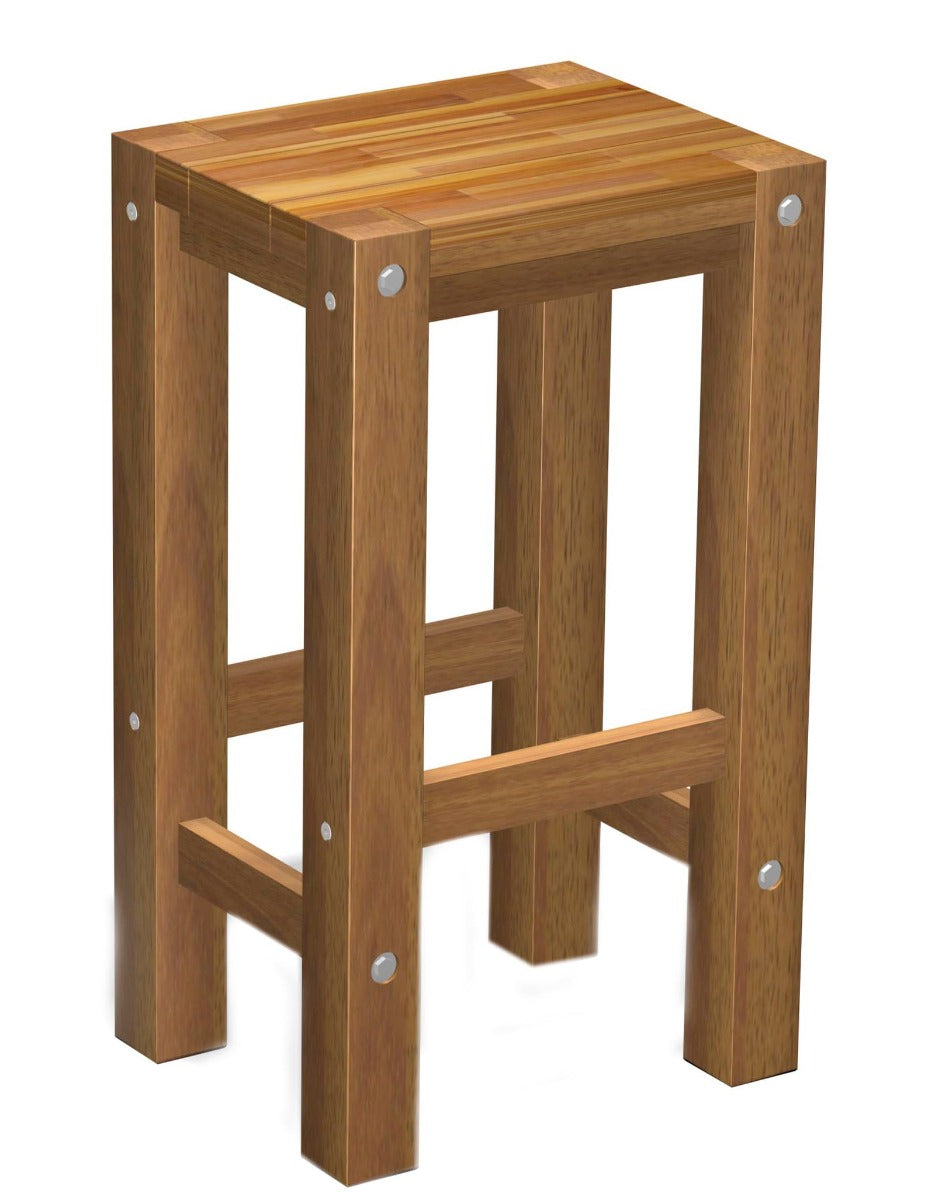 Sturdy Stool Natural