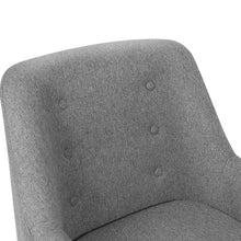 Load image into Gallery viewer, Artiss Fabric Dining Armchair - Grey