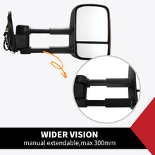 Load image into Gallery viewer, Pair Extendable Towing Mirrors Fit Toyota HILUX 2005-2015