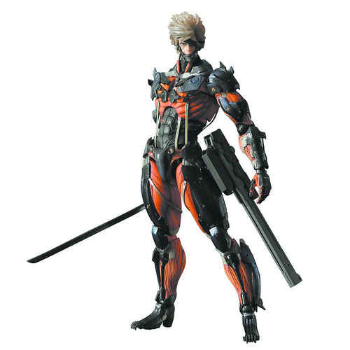 Revengeance Play Arts Kai - Raiden Red Version
