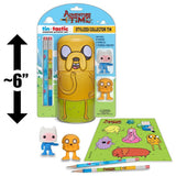 Jake 6ʺ Adventure Time: Tin Tastic Creative Activity Set Stylized Collector Tin