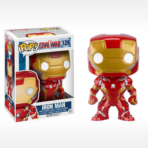 Captain America 3-Iron Man