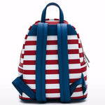 Americana Quilted Mini Backpack