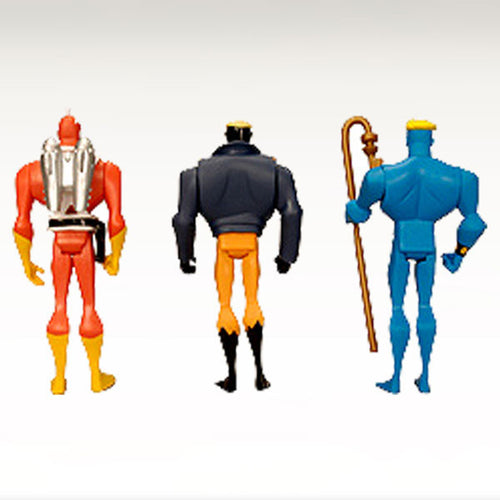 DC Universe Justice League Unlimited - Adam Strange, Animal Man & Star Man 3-Pack