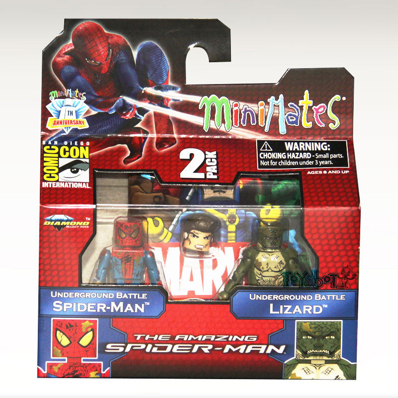 2012 SDCC Exclusive Amazing Spider-Man Sewer Battle Minimates