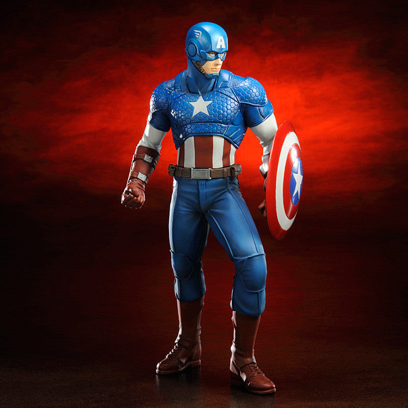 Kotobukiya Marvel Comics Captain America Marvel Now! Artfx+ Statue