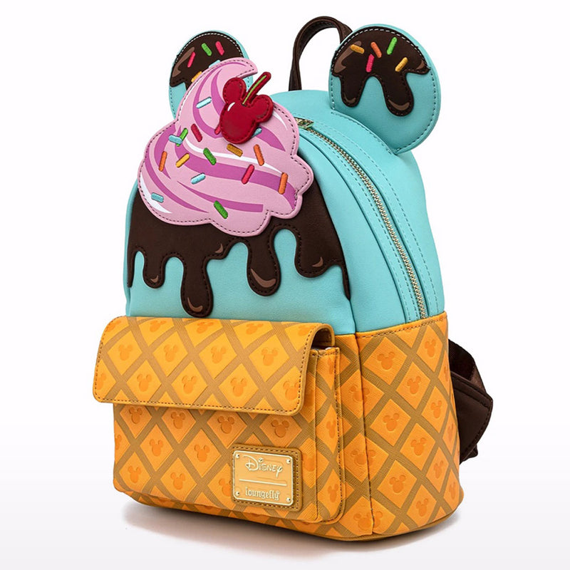 Disney Mickey and Minnie Sweets Ice Cream Mini Backpack