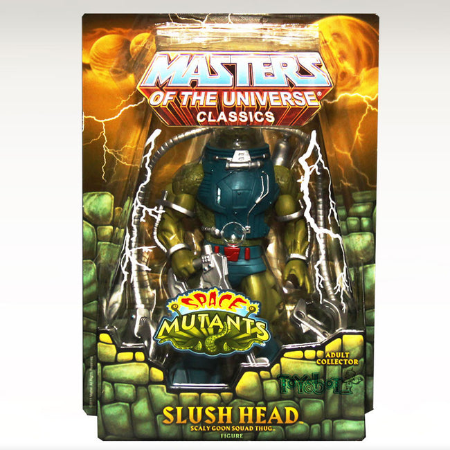 Master of the Universe Classics Slush Head