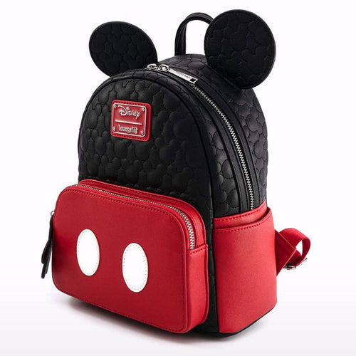 Disney Mickey Mouse Oh Boy Quilted Womens Mini Backpack