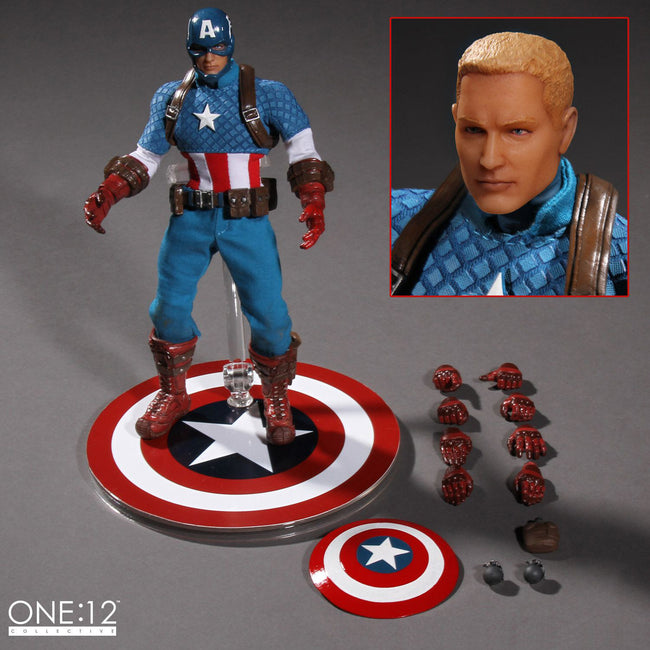 ONE:12 Collective Captain America Action Figure