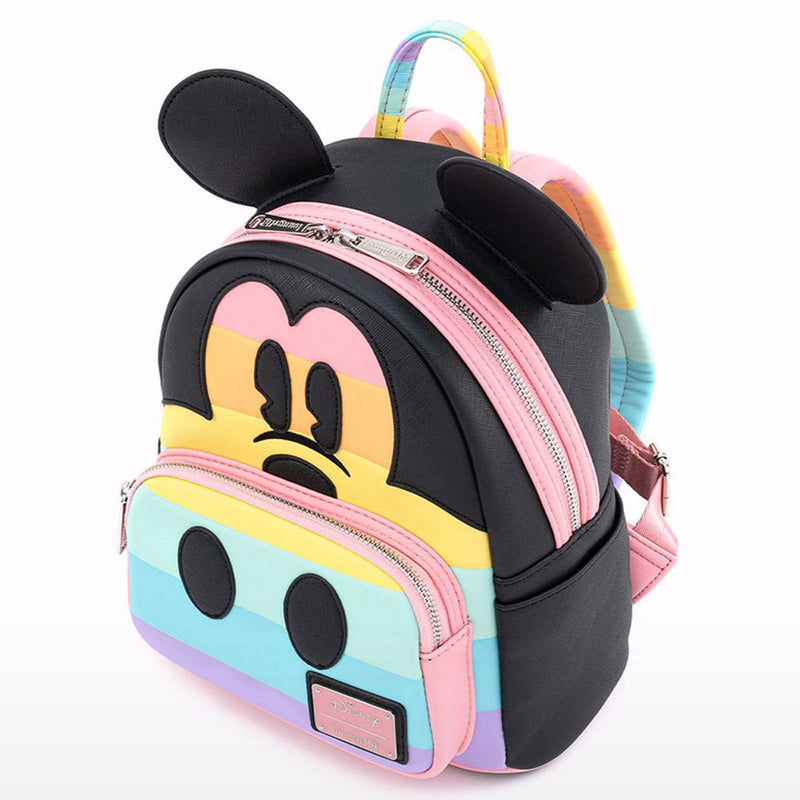 Disney Mickey Pastel Rainbow Mini Backpack