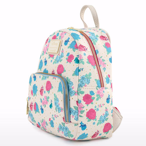 Disney Sleeping Beauty Floral Fairy Godmothers Mini Backpack